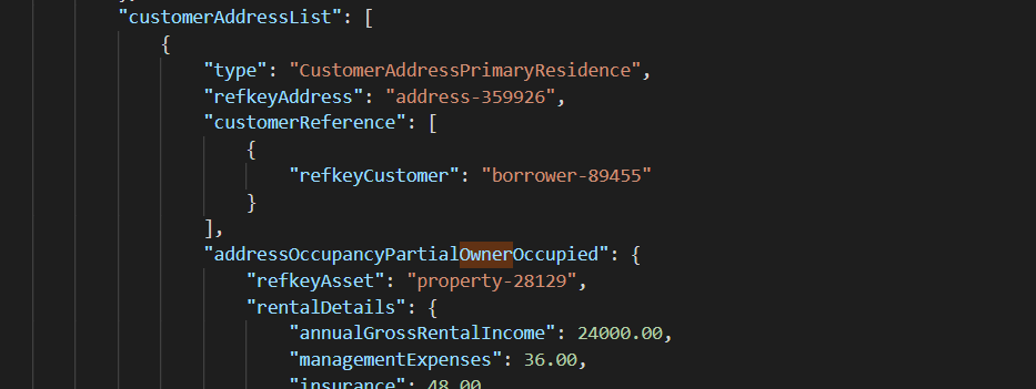 customer address polymorphism sample 1